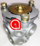 E3 Single Circuit Foot Control Valve
