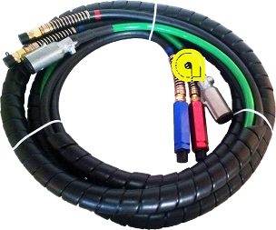 H-70303 3-in-1 ABS Cable Hose Kit 15' feet