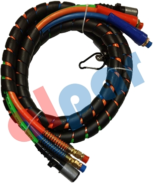 H-70303A ABS 15ft 3-In-1 Air Hose and ABS Electrical Cable Set Ref: 169157 451098