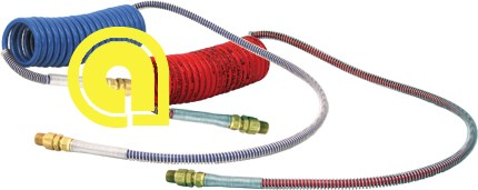 H-30306 Air Hose set Red+Blue 15' With 48'' Lead